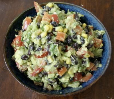 Avocado Black Bean And Vegetable Dip Eggs On Sunday