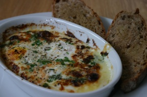 Herb Baked Eggs