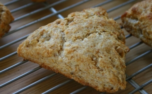Honey Nut Scones
