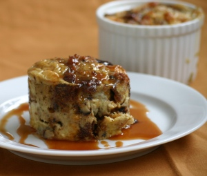 Banana Bread Puddings