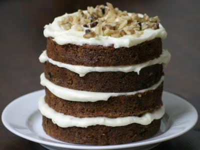 Solid Gold Carrot Cake