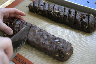 Chocolate Biscotti 7