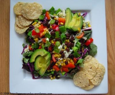 tags: salad , taco salad
