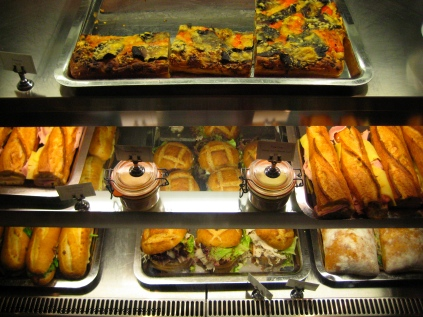 "And now we come to the breakfast pastries. Oh my . ""Door to ..."