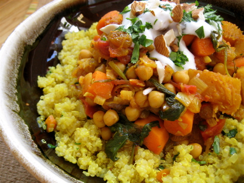 The Root Vegetable Chronicles: Quinoa with Moroccan Carrot ...