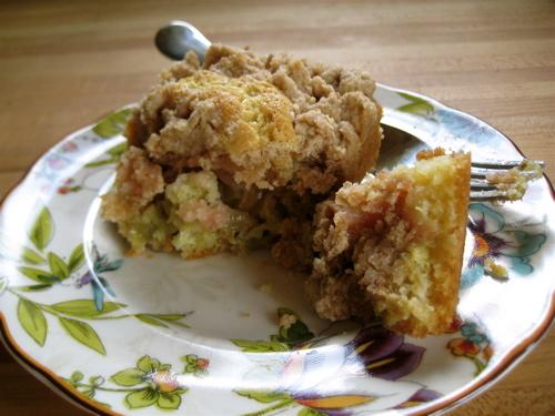 Rhubarb 'Big Crumb' Coffee Cake | eggs on sunday