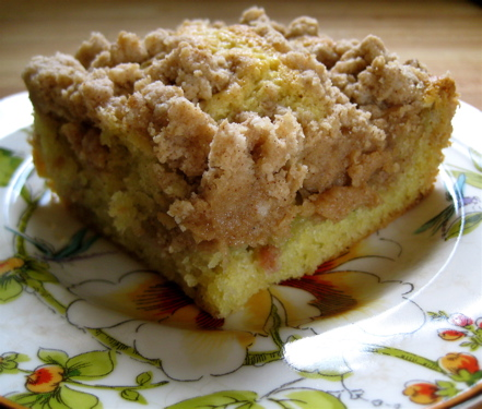Rhubarb 'Big Crumb' Coffee Cake | eggs on sunday