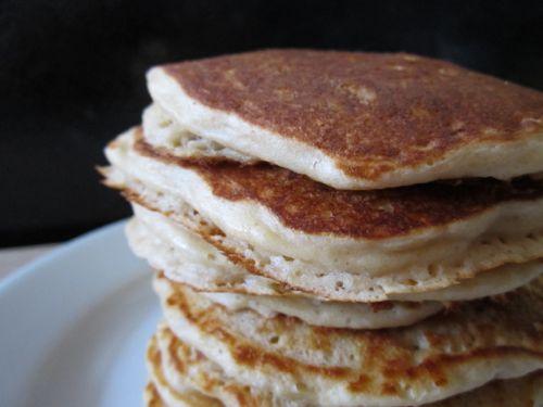 homemade whole grain pancake mix eggs on sunday